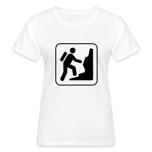 Bergwandern_logo - Frauen Bio-T-Shirt