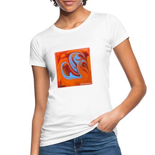 TIAN GREEN Mosaik DK005 - Herzenswelten - Frauen Bio-T-Shirt