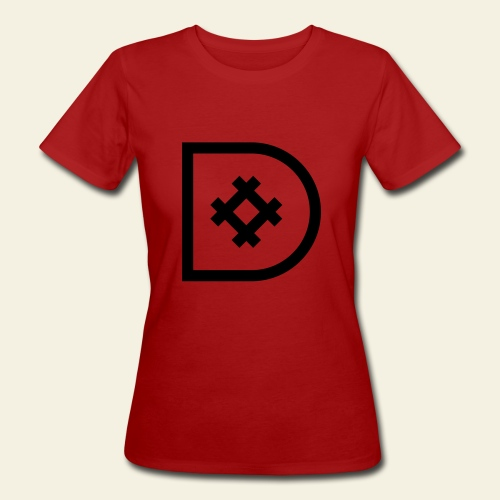 Icona de #ildazioètratto - T-shirt ecologica da donna