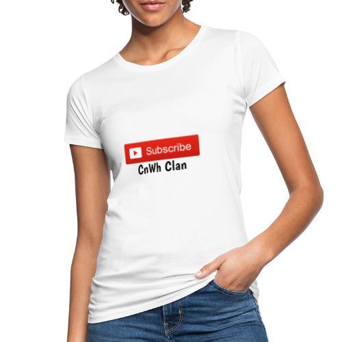 Subscribe CnWh Clan Merch - Ekologisk T-shirt dam