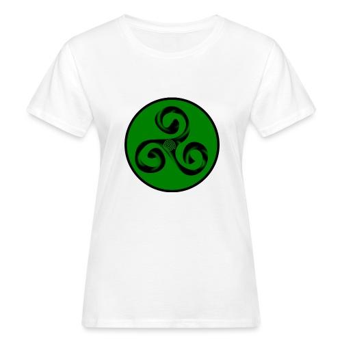 Triskel and Spiral - Camiseta ecológica mujer