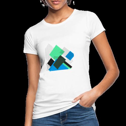 Abstract rectangles pastel - Women's Organic T-Shirt