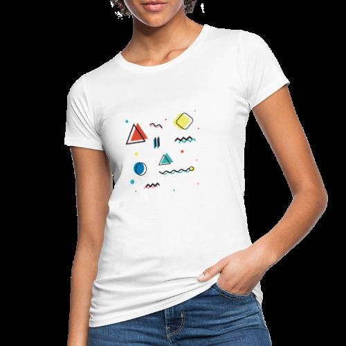 Abstract geometry - Women's Organic T-Shirt