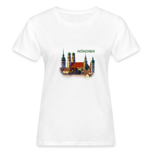München Frauenkirche - Frauen Bio-T-Shirt