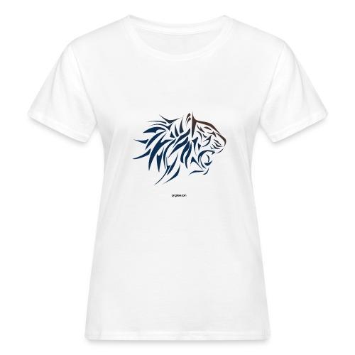 tiger vector - Camiseta ecológica mujer