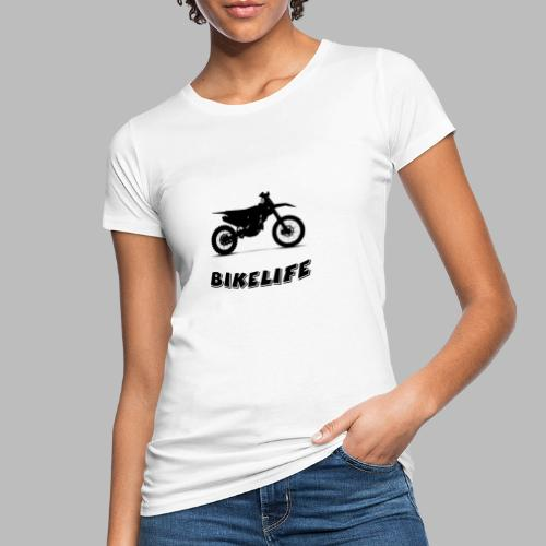 Bikelife - Ekologisk T-shirt dam