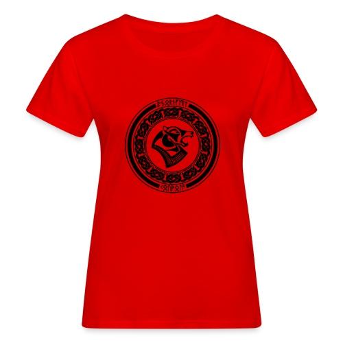 BjornfellRisingBlack - Naisten luonnonmukainen t-paita
