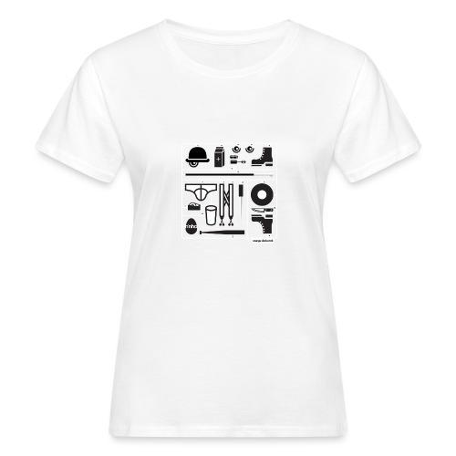 Ninho Orange Clockworks - T-shirt ecologica da donna