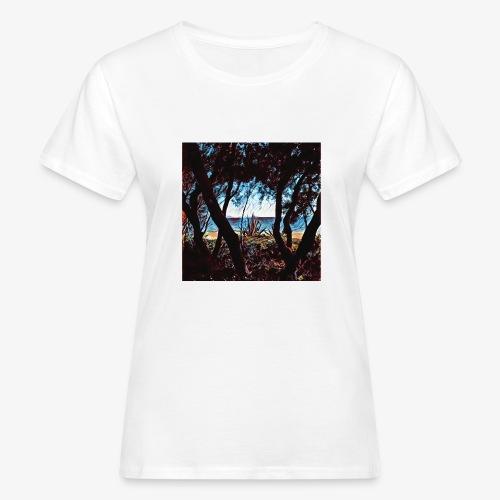 Vista mare dalla pineta - T-shirt ecologica da donna