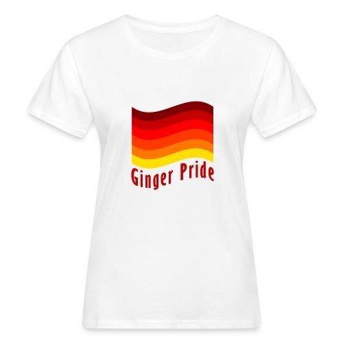 Ginger Pride flag Dark png - Women's Organic T-Shirt