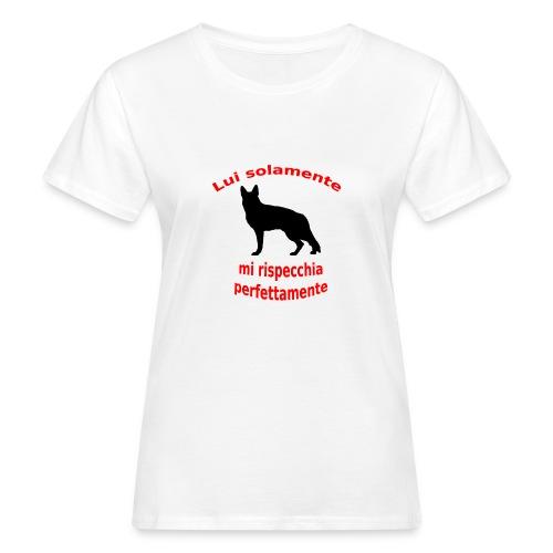 Pastore Tedesco - T-shirt ecologica da donna
