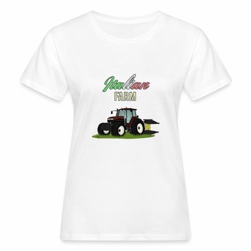 Italian Farm official T-SHIRT - T-shirt ecologica da donna