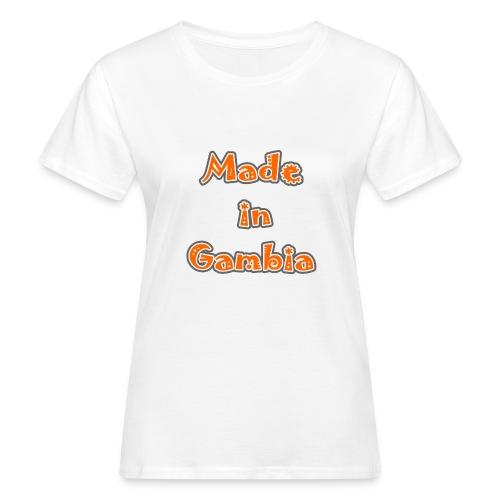 Made in Gambia - Women's Organic T-Shirt