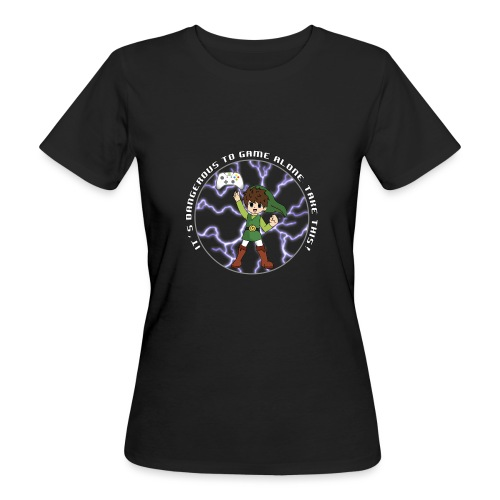 Dangerous To Game Alone - Women's Organic T-Shirt