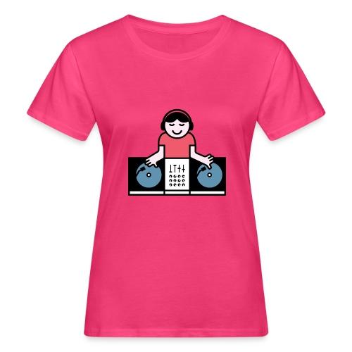Vinyl DJ - Vrouwen Bio-T-shirt