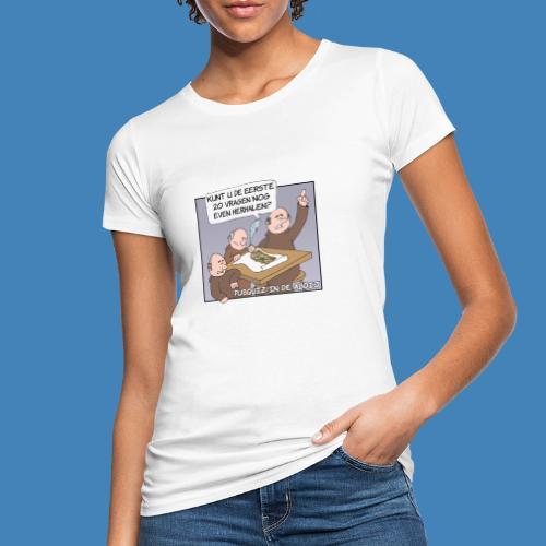 Pubquiz in de Abdij - Vrouwen Bio-T-shirt