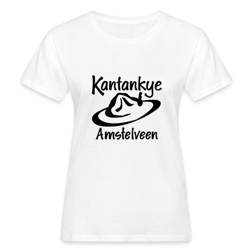 logo naam hoed amstelveen - Vrouwen Bio-T-shirt