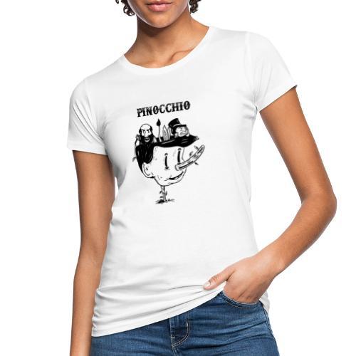 pinocchio - T-shirt ecologica da donna