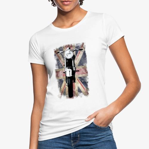 Vintage Motor Cycle BSA feature patjila - Women's Organic T-Shirt