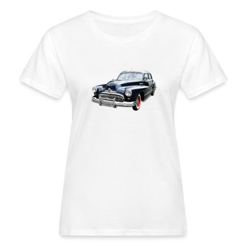 Classic Car. Buick zwart. - Vrouwen Bio-T-shirt