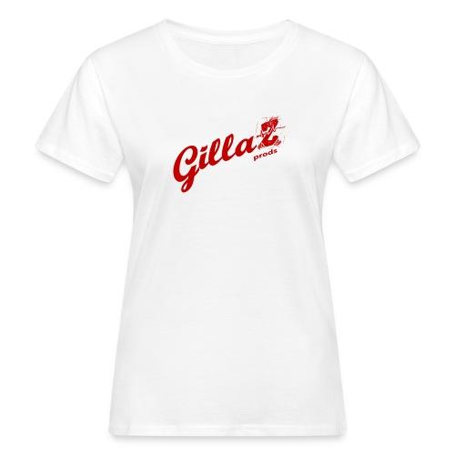 LOGO_GILLAZ-rouge - T-shirt bio Femme