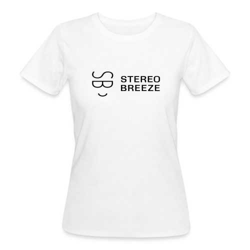 Stereo Breeze black - Women's Organic T-Shirt
