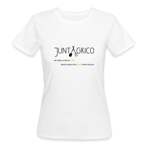 juntagrco_code - Frauen Bio-T-Shirt