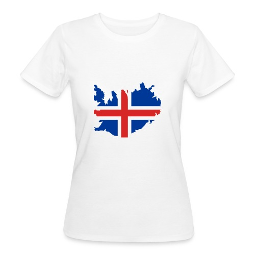 Iceland - Vrouwen Bio-T-shirt