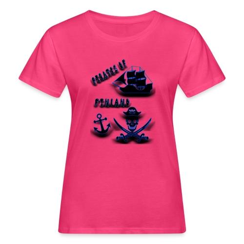 Pirates - Naisten luonnonmukainen t-paita