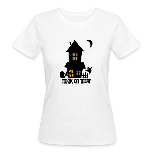 Happy Halloween - Frauen Bio-T-Shirt