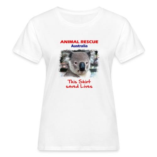 Australien KOALA RESCUE - Spendenaktion - Frauen Bio-T-Shirt