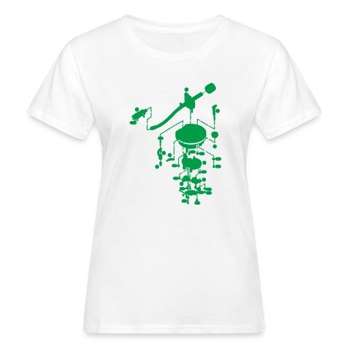 tonearm05 - Vrouwen Bio-T-shirt