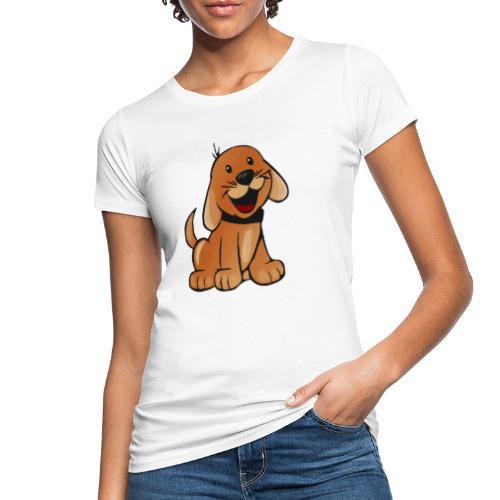cartoon dog - T-shirt ecologica da donna