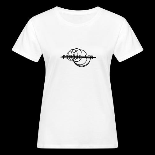 Pinque AEM NERO - T-shirt ecologica da donna