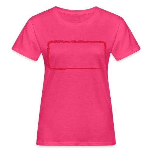 Rahmen_01 - Frauen Bio-T-Shirt