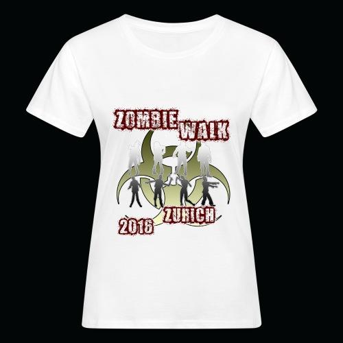 shirt zombie walk1 - Frauen Bio-T-Shirt