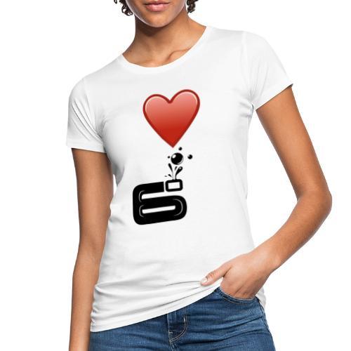 6bulle I love 6° - T-shirt bio Femme