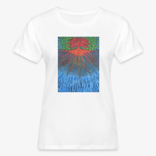 Drzewo Źycia - Ekologiczna koszulka damska