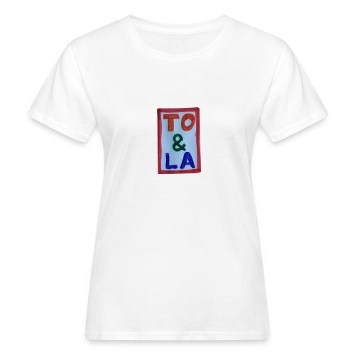 TO & LA - Ekologiczna koszulka damska