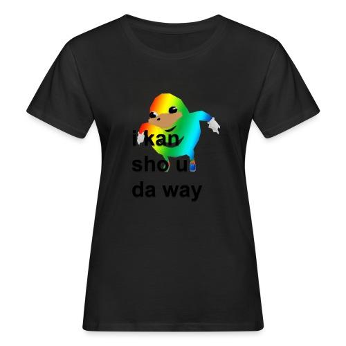 uganda - Naisten luonnonmukainen t-paita