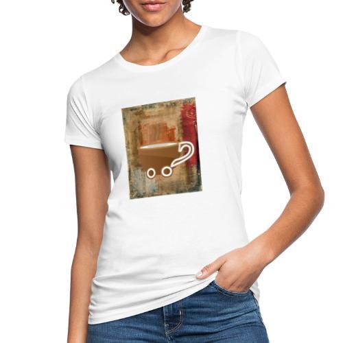 vintage coffee - Frauen Bio-T-Shirt