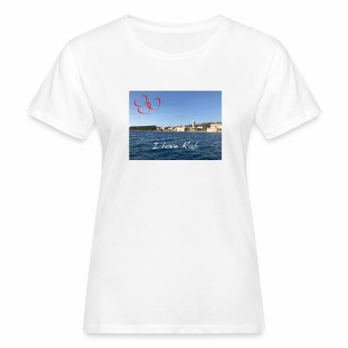 I love Rab - Frauen Bio-T-Shirt