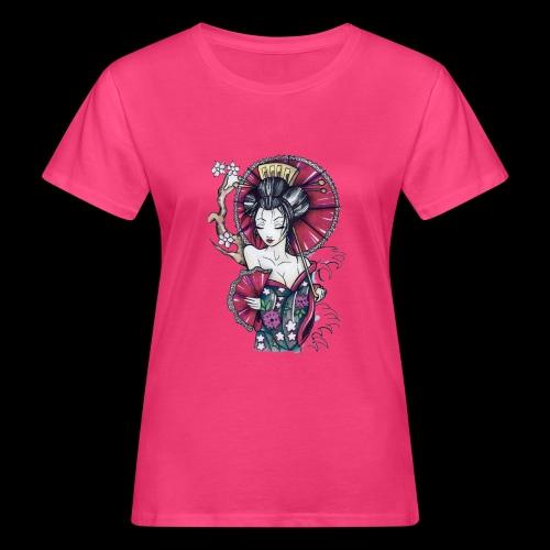Geisha2 - T-shirt ecologica da donna