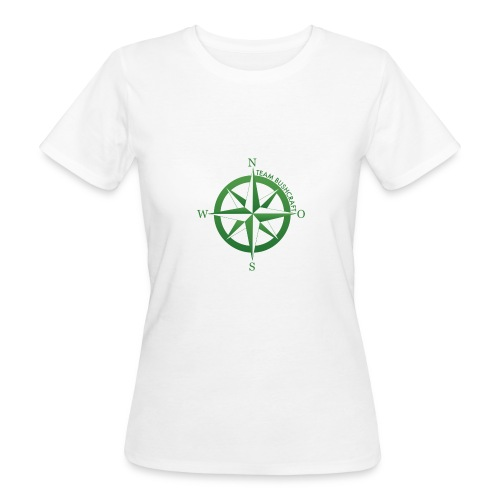 Team Bushcraft Kompass - Frauen Bio-T-Shirt