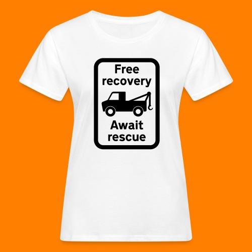 free recovery - Women's Organic T-Shirt