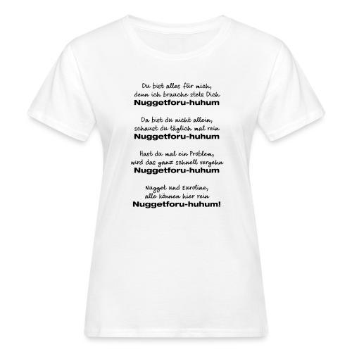 Du bist alles für mich - Frauen Bio-T-Shirt
