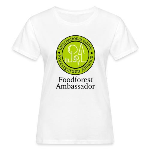 foodfores Ambassador gr - Frauen Bio-T-Shirt
