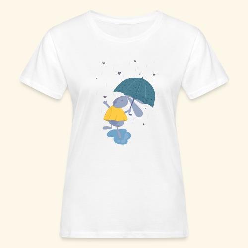 happy in the rain - Women's Organic T-Shirt