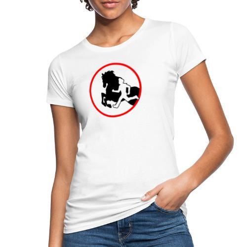 Horse Agility Logo - Frauen Bio-T-Shirt