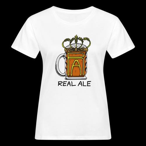 Real Ale - Women's Organic T-Shirt